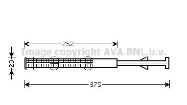 Bouteille deshydratante AVA QUALITY COOLING MCD011 (X1)