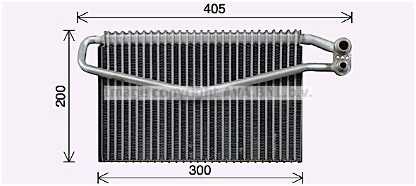 Evaporateur AVA QUALITY COOLING MEV310 (X1)