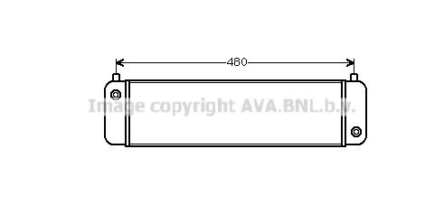 Radiateur huile AVA QUALITY COOLING MS3014 (X1)