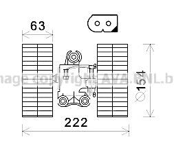 Moteur de ventilateur de chauffage AVA QUALITY COOLING MS8633 (X1)