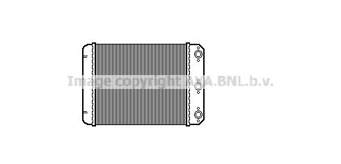 Radiateur de chauffage AVA QUALITY COOLING MSA6107 (X1)
