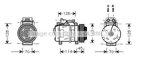 Compresseur AVA QUALITY COOLING MSK274 (X1)