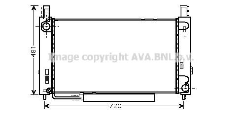 Module de refroidissement AVA QUALITY COOLING MSM366 (X1)