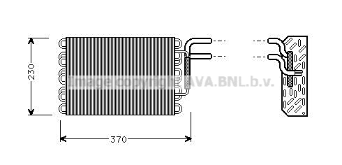 Evaporateur AVA QUALITY COOLING MSV002 (X1)