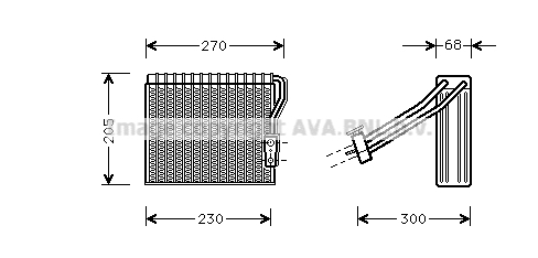 Evaporateur AVA QUALITY COOLING MSV051 (X1)