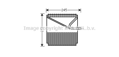Evaporateur AVA QUALITY COOLING MSV454 (X1)