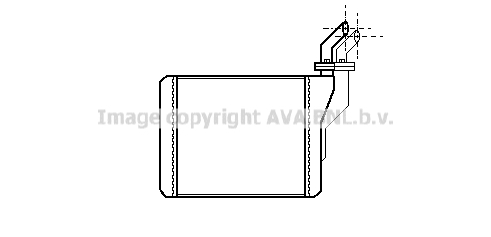 Radiateur de chauffage AVA QUALITY COOLING OL6181 (X1)