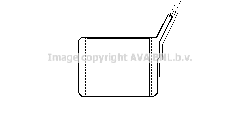 Radiateur de chauffage AVA QUALITY COOLING OL6182 (X1)