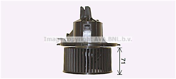 Moteur de ventilateur de chauffage AVA QUALITY COOLING OL8696 (X1)