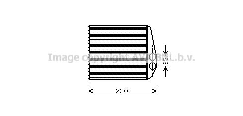 Chauffage AVA QUALITY COOLING OLA6355 (X1)