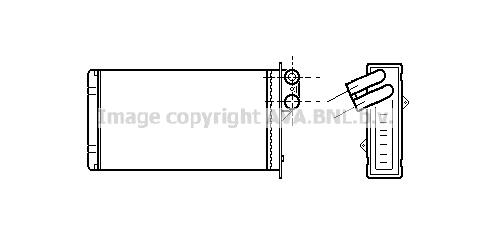 Radiateur de chauffage AVA QUALITY COOLING PEA6118 (X1)