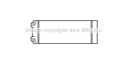 Radiateur de chauffage AVA QUALITY COOLING PR6007 (X1)