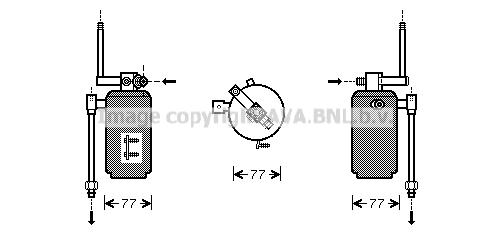 Bouteille deshydratante AVA QUALITY COOLING PRD049 (X1)
