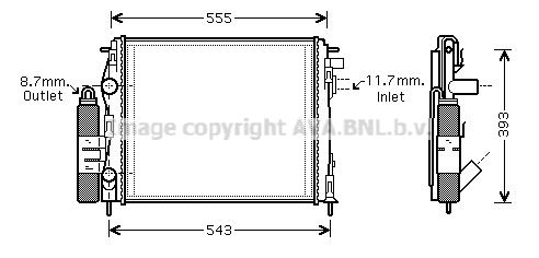 Module de refroidissement AVA QUALITY COOLING RTM323 (X1)