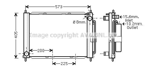 Module de refroidissement AVA QUALITY COOLING RTM499 (X1)