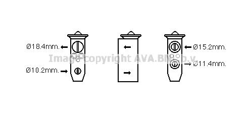 Detendeur de climatisation (X1)