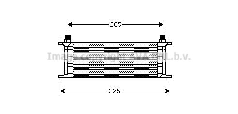 Radiateur huile AVA QUALITY COOLING SZ3068 (X1)