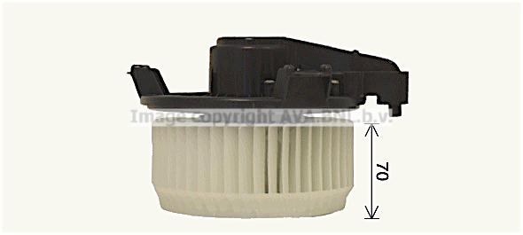 Moteur de ventilateur de chauffage AVA QUALITY COOLING TO8751 (X1)