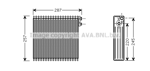 Evaporateur AVA QUALITY COOLING TOV294 (X1)