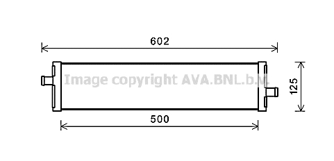 Radiateur de refroidissement AVA QUALITY COOLING VN2312 (X1)
