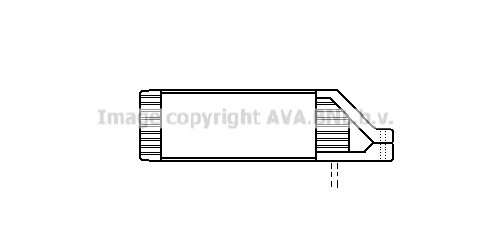 Radiateur huile AVA QUALITY COOLING VN3107 (X1)