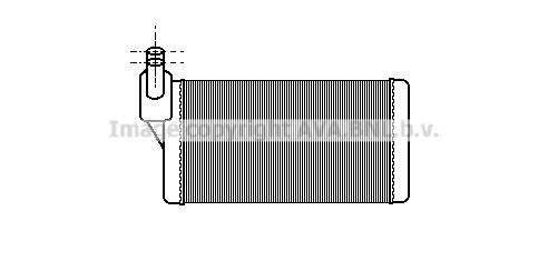Radiateur de chauffage AVA QUALITY COOLING VN6097 (X1)
