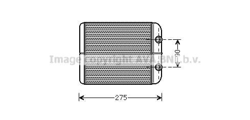 Radiateur de chauffage AVA QUALITY COOLING VN6301 (X1)