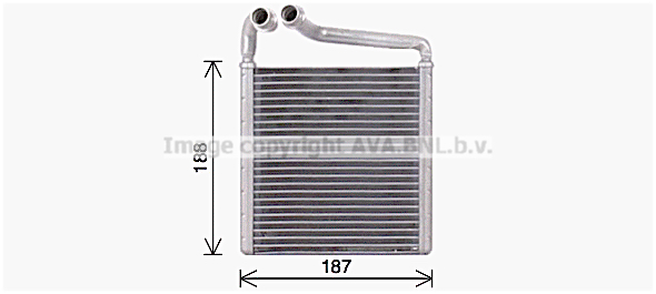 Radiateur de chauffage AVA QUALITY COOLING VN6416 (X1)