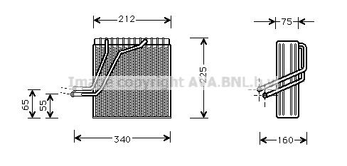 Evaporateur AVA QUALITY COOLING VNV030 (X1)