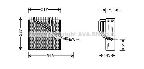 Evaporateur AVA QUALITY COOLING VNV055 (X1)