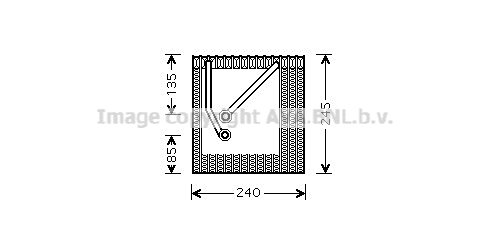 Evaporateur AVA QUALITY COOLING VNV242 (X1)