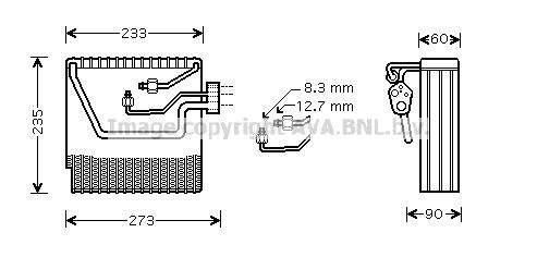 Evaporateur AVA QUALITY COOLING VOV111 (X1)