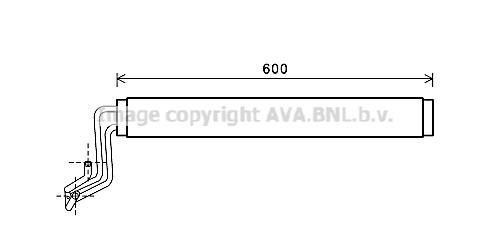 Radiateur de direction AVA QUALITY COOLING VW3308 (X1)