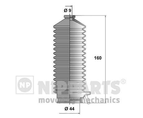 Joints soufflets direction - crémaillère NIPPARTS J2842007 (X1)
