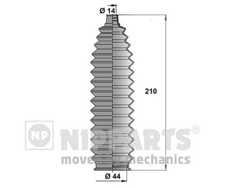 Joints soufflets direction - crémaillère NIPPARTS J2842011 (X1)