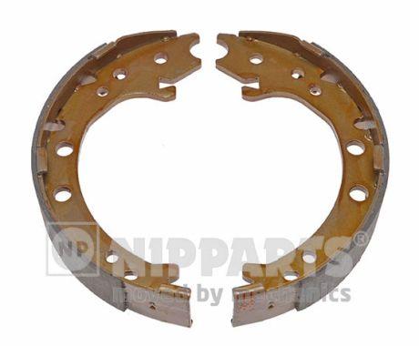 Jeu de mâchoires de frein de frein à main NIPPARTS N3504025 (X1)