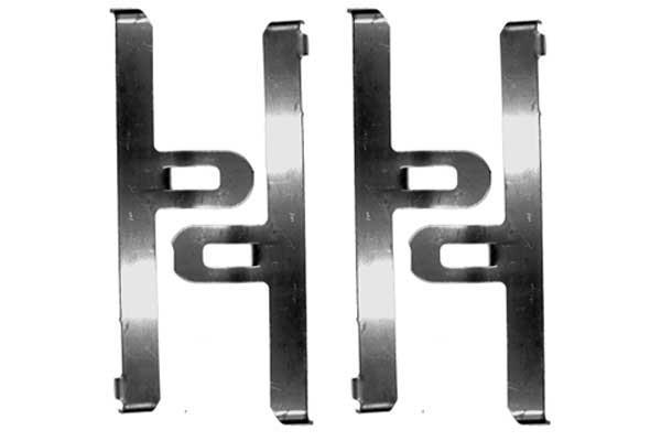 Kit de montage plaquettes de frein MGA A6 (X1)