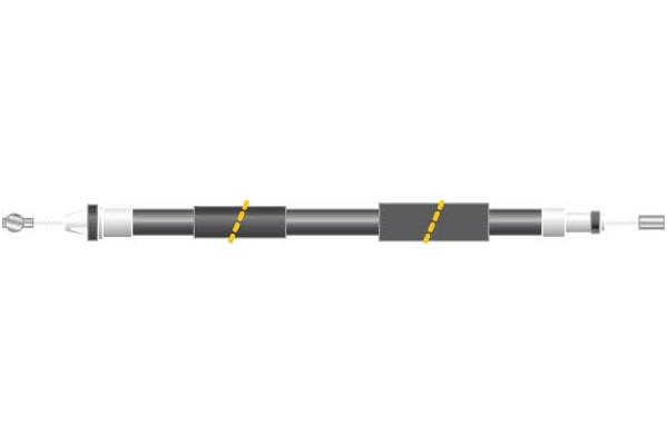 Cable de frein à main MGA CF5850 (X1)