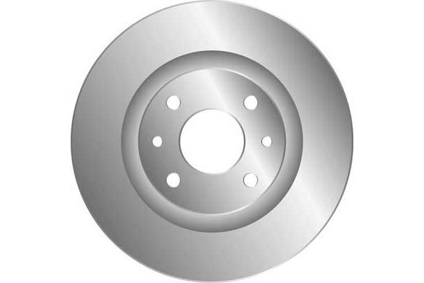 Disque de frein avant MGA D1982 (Jeu de 2)
