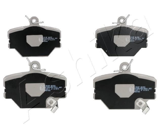 Plaquettes de frein avant ASHIKA 50-0M-000 (X1)
