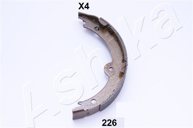 Jeu de mâchoires de frein de frein à main ASHIKA 55-02-226 (X1)