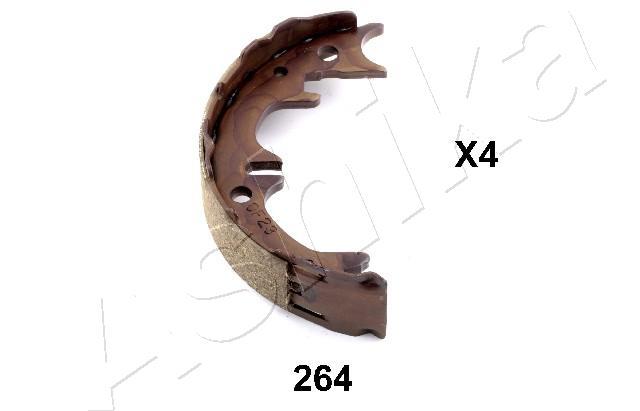 Jeu de mâchoires de frein de frein à main ASHIKA 55-02-264 (X1)