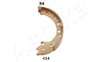 Jeu de mâchoires de frein de frein à main ASHIKA 55-04-414 (X1)