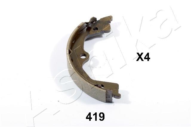 Jeu de mâchoires de frein de frein à main ASHIKA 55-04-419 (X1)