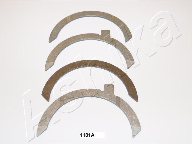Cale de vilebrequin ASHIKA 79-1181A (X1)