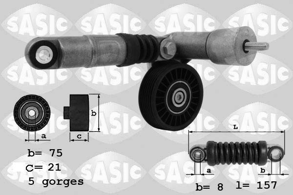 Tendeur de courroie d'accessoires SASIC 1626047 (X1)