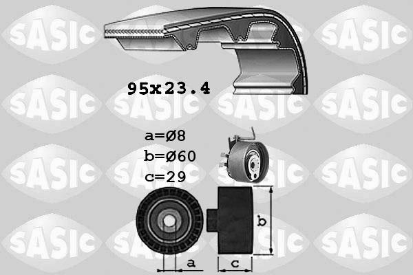 Kit distribution SASIC 1754009 (X1)