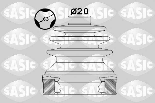Soufflet de cardan SASIC 1900003 (X1)