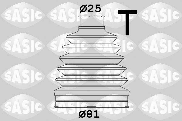 Soufflet de cardan SASIC 1904012 (X1)