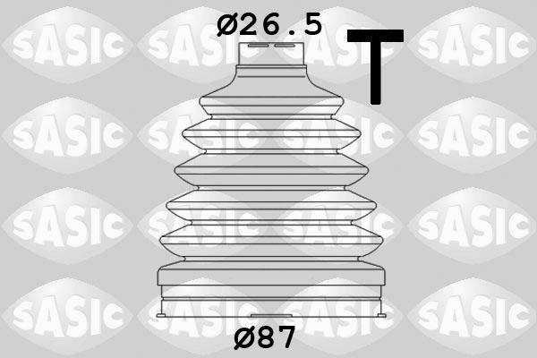 Soufflet de cardan SASIC 1904020 (X1)